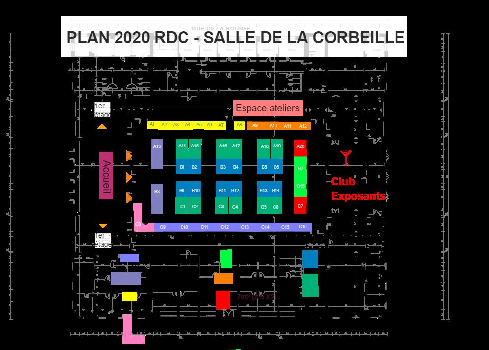 Plan salle de la Corbeille